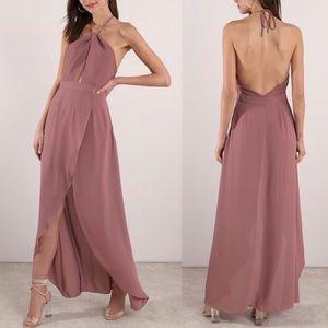 Tobi Patti Mauve Maxi Dress